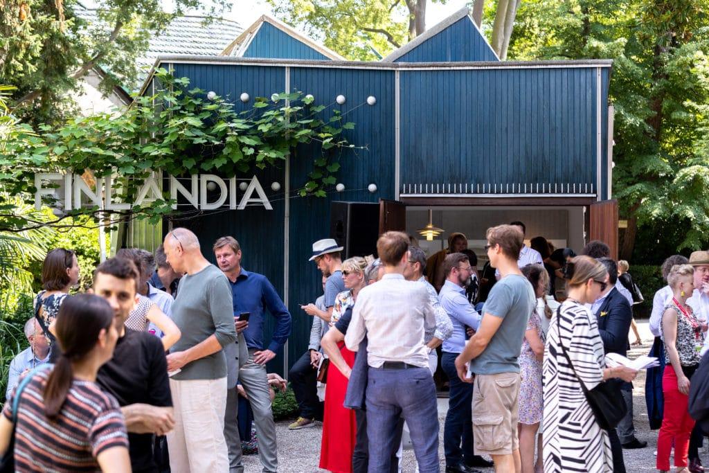 Mind-Building, Suomen paviljongin näyttely Venetsian arkkitehtuuribiennaalissa ulkonäkymä