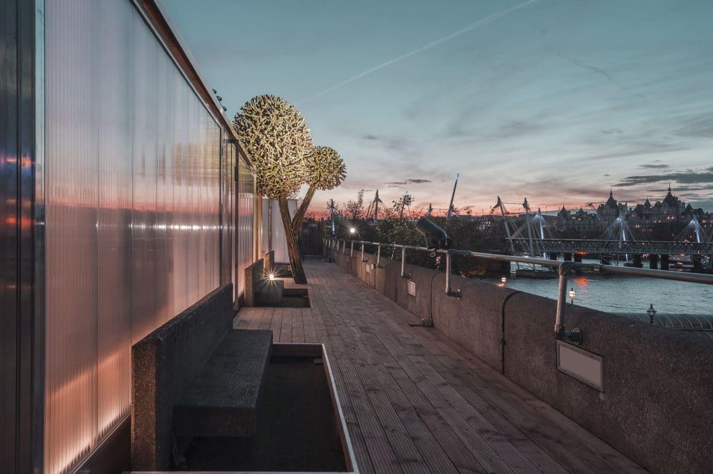 Finnish Rooftop Sauna ulkonäkymä