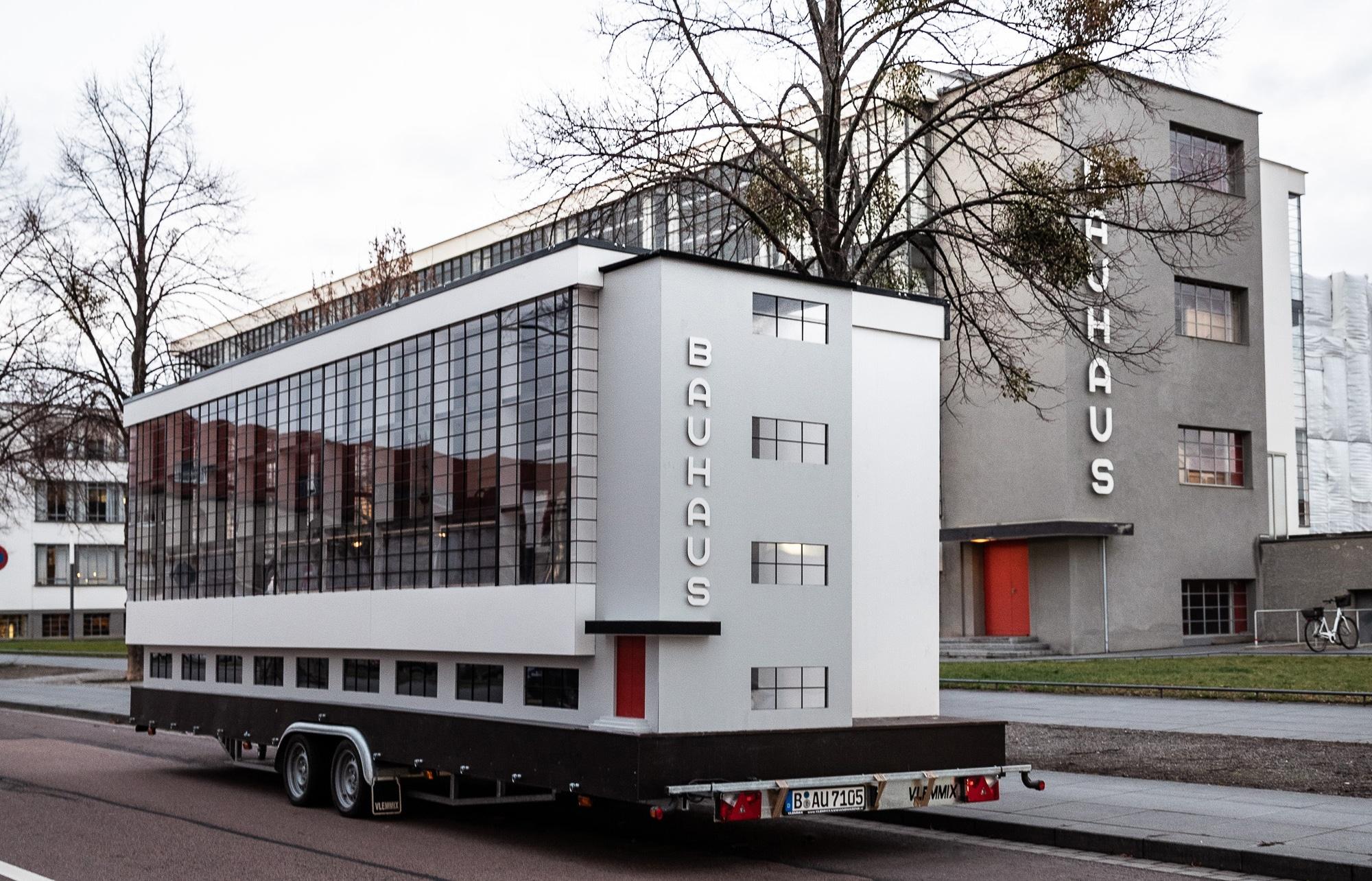 Bauhaus-koulun pienoismallivaunu