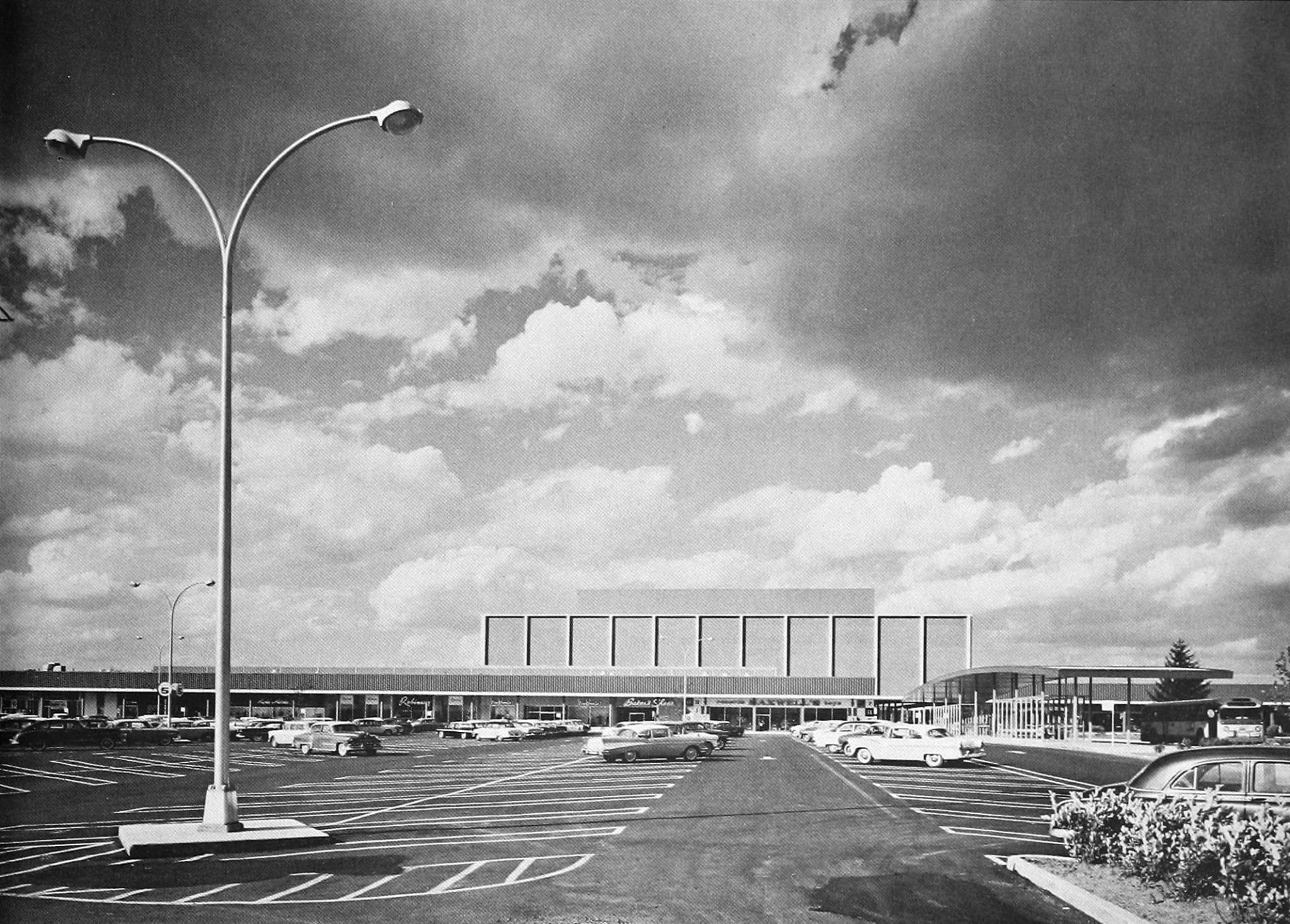 Southdale Center (Edina, Minnesota, USA) ulkonäkymä
