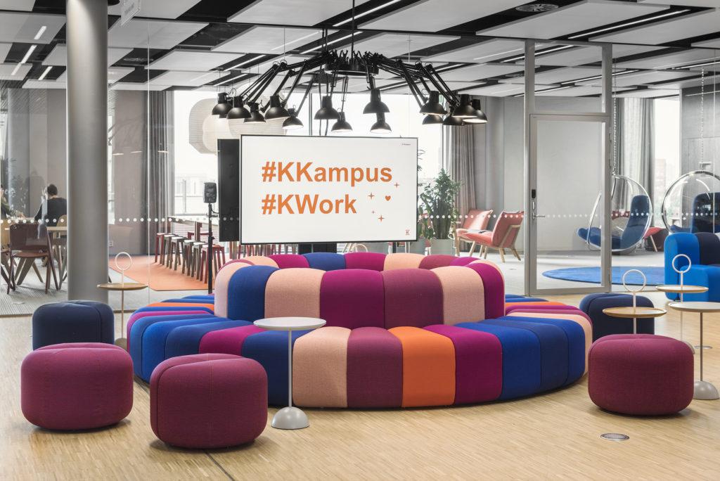 Näkymä Future-työkahvilasta / View from working café Future