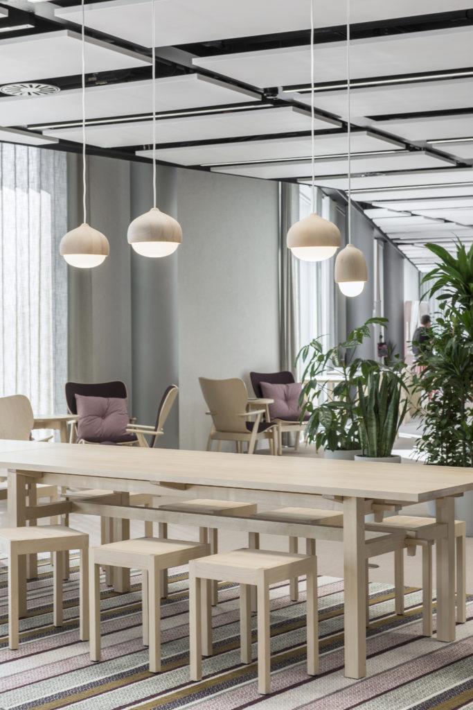 Näkymä, työkahvila Reilu / Working café Reilu