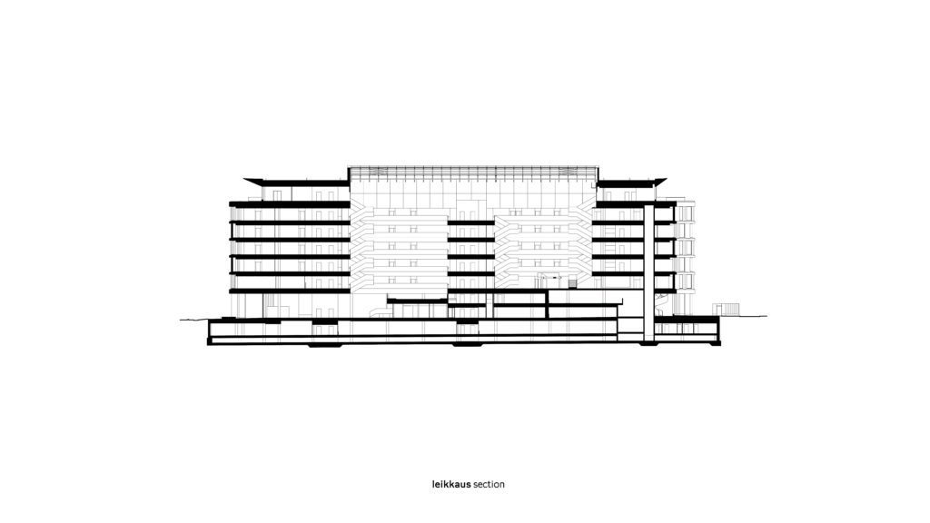 Section / Leikkaus, K-kampus
